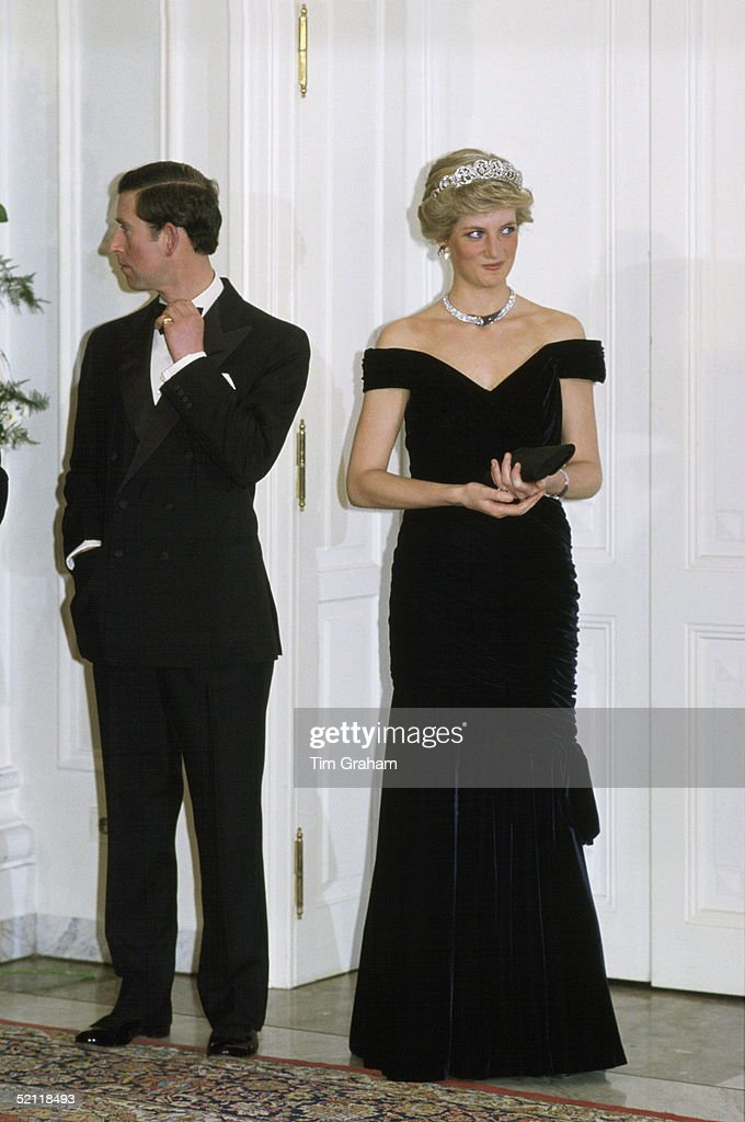 Diana And Charles In Germany : News Photo