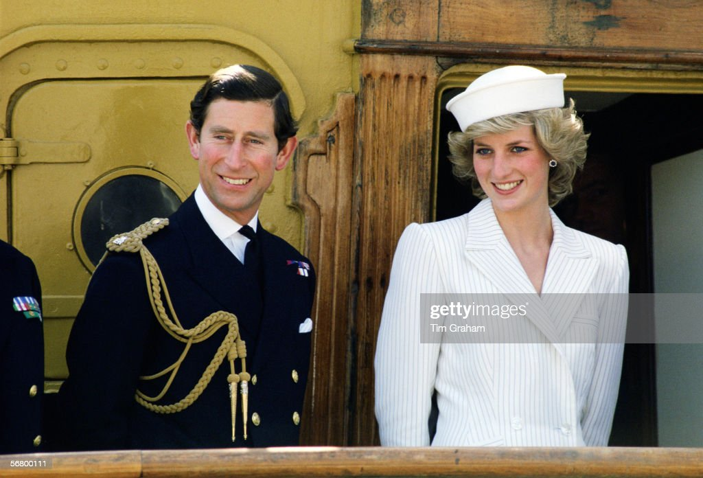 Prince Charles - With Diana
