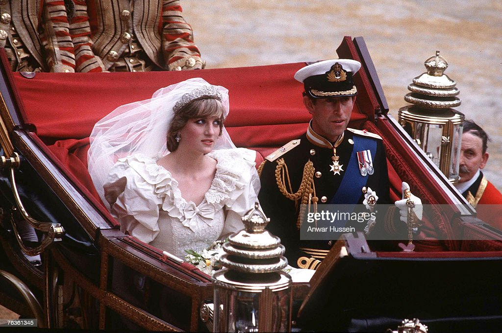 Prince Charles And Lady Diana's Wedding - July 29, 1981 : Nachrichtenfoto