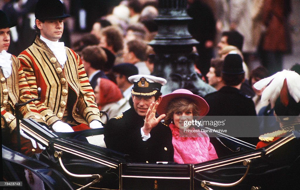 Charles And Diana : News Photo