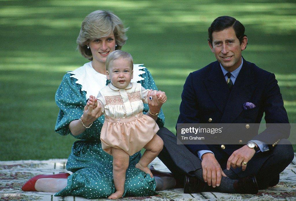 Diana Charles & William : News Photo