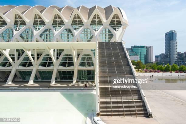 Das Prinz Felipe Wissenschaftsmuseum - Museo De Las Ciencias (Stadt der Künste und Wissenschaften) in Valencia