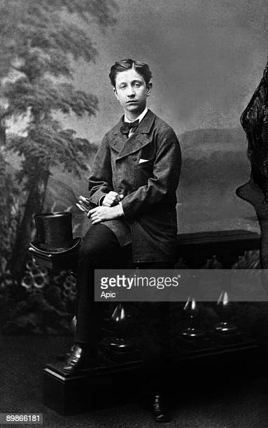The Prince Imperial Louis Napoleon son of NapoleonIII and empressEugenia, here as a child c. 1870