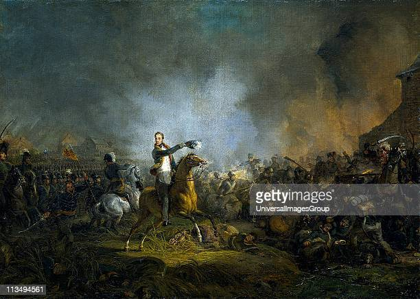 The Prince of Orange at the Battle of Quatre Bras 16 June 1815 Painted in 1817 1818 by Jan Willem Pieneman