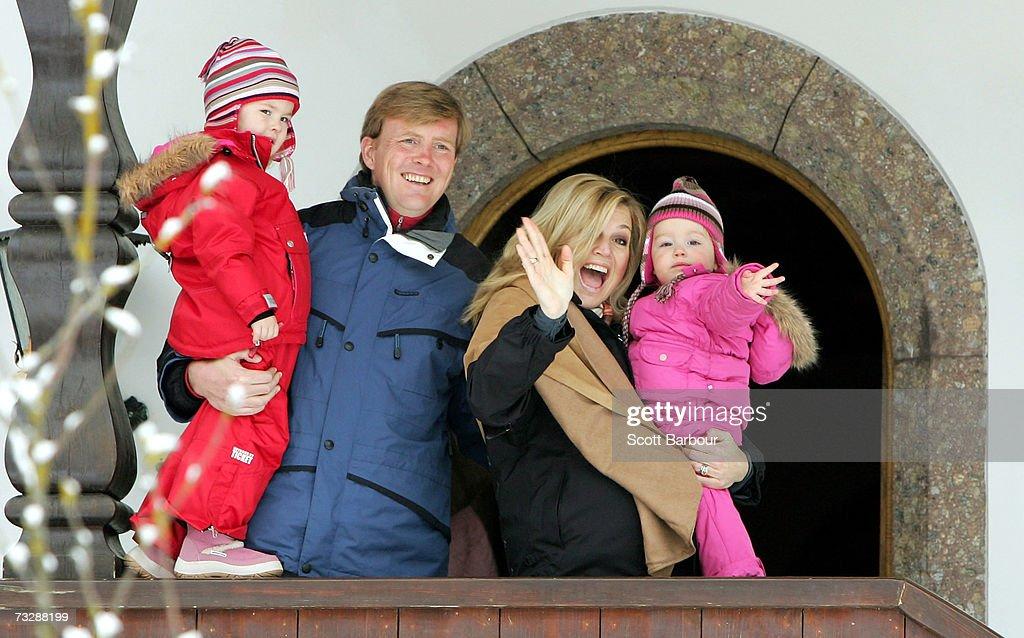 Dutch Royal Family Annual Winter Photocall : News Photo