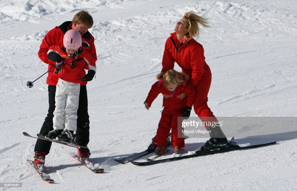 Dutch Royal Family Annual Winter Photocall : News Photo