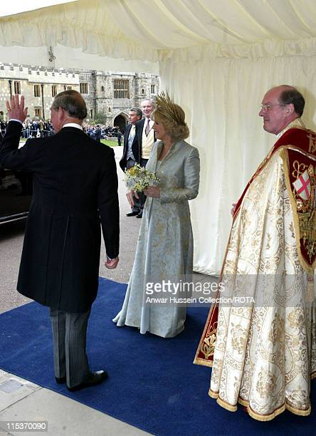 HRH The Prince of Wales and Camilla ParkerBowles during The Royal Wedding of HRH Prince Charles and Mrs Camilla Parker Bowles The Blessing Ceremony...