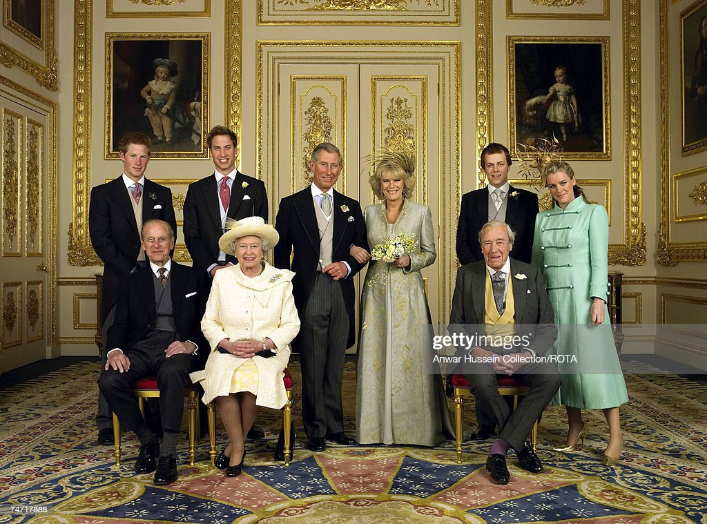 The Royal Wedding of HRH Prince Charles and Mrs. Camilla Parker Bowles : News Photo