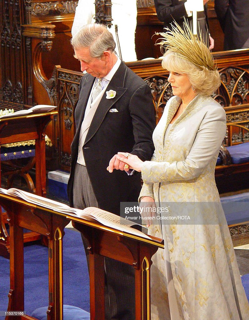 The Prince Of Wales And His New Wife Camilla Parker Bowles Ss