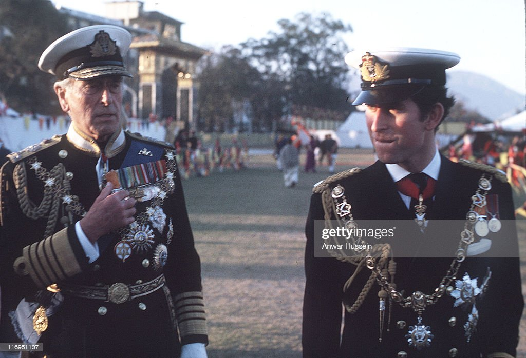 Royal Visit To Nepal - January 1, 1975 : News Photo