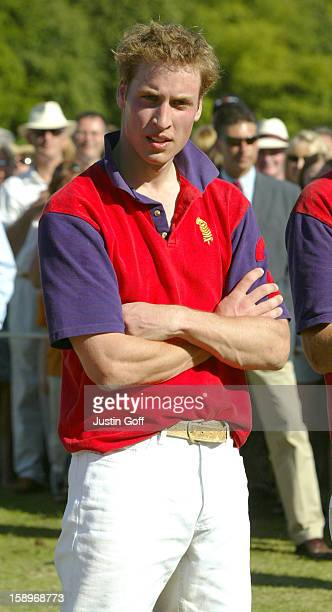 The Prince Of Wales And Princes William Harry Play In A Polo Match At Tidworth Park During The Rundle Cup Meeting