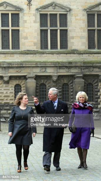 The Prince of Wales and The Duchess of Cornwall arrive at Kronborg Castle in Denmark as they continue their tour of Scandinavia