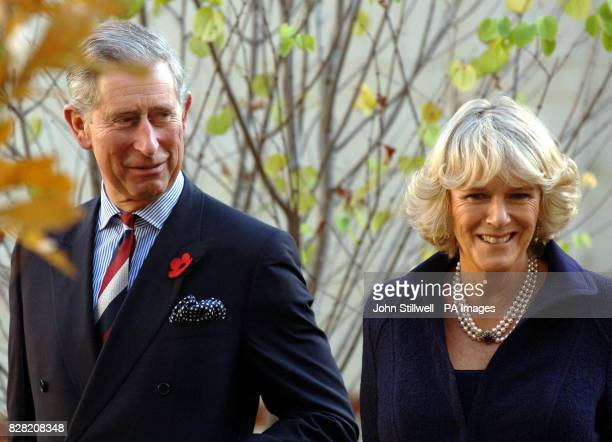 The Prince of Wales and the Duchess of Cornwall at the Seed School on the outskirts of Washington DC Wednesday November 2 2005 The Prince and his...