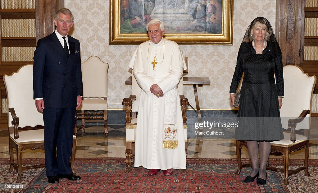 Royal Couple In Italy : News Photo