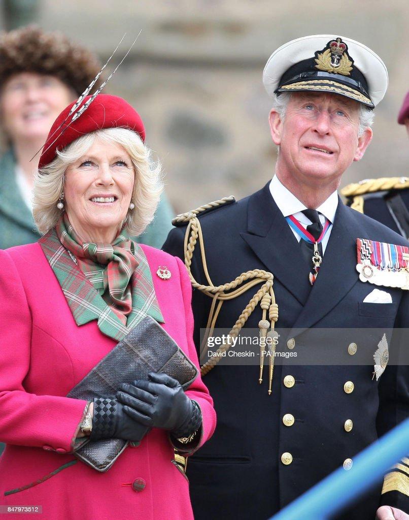 Royal visit to Scotland : News Photo