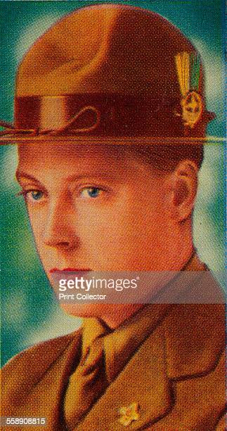 The Prince of Wales Chief Scout of Wales c1910s Ardath cigarette card from a series of 50 commemorating the Silver Jubilee of King George V 1935