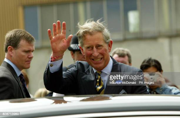 The Prince of Wales continued his tour of Scotland by returning to one of the country's most deprived housing estates two years after his last visit...