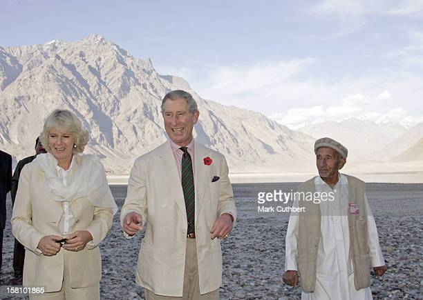The Prince Of Wales & Duchess Of Cornwall Visit Pakistan.Visit To Skardu. .