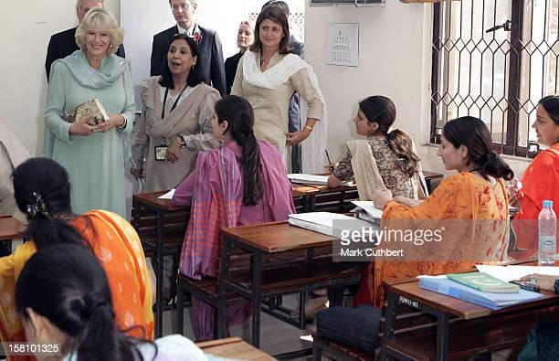 The Prince Of Wales Duchess Of Cornwall Visit PakistanVisit To The Jinnah University In Rawalpindi