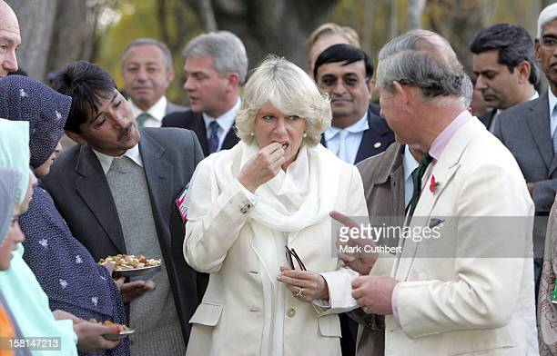 The Prince Of Wales & Duchess Of Cornwall Visit Pakistan.Visit To The Nansoq Organic Village In Skardu. .