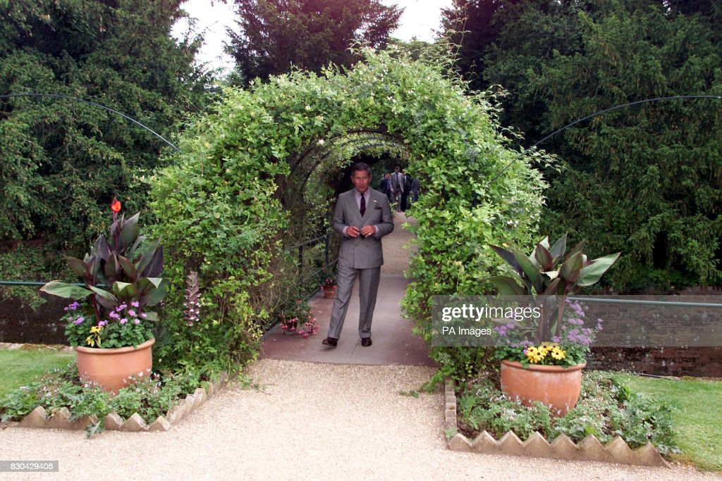 Organic Kitchen Garden Prince at audley garden pictures getty images the prince of wales enters the organic kitchen garden at audley end house in saffron walden workwithnaturefo
