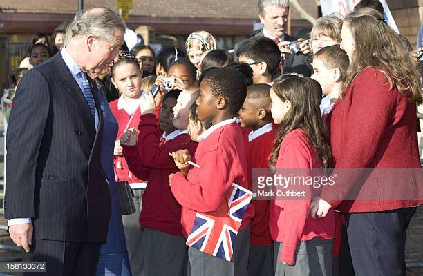 The Prince Of Wales President Of The Prince's Trust And Camilla The Duchess Of Cornwall Attend The Launch Of Youth Week And Meet With Young People...