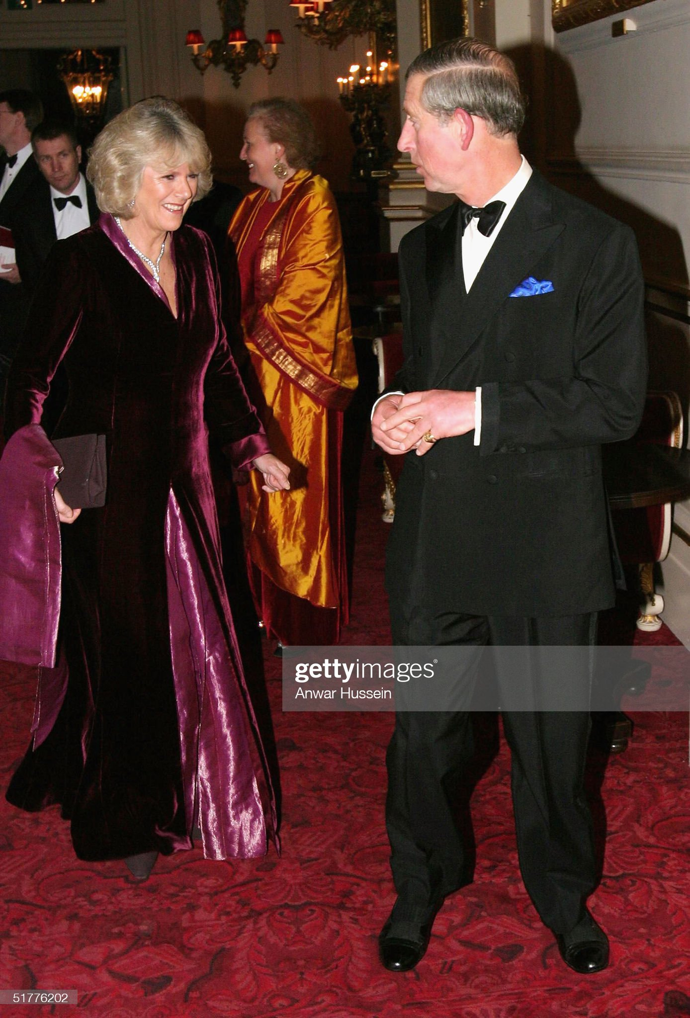 Prince Charles And Camilla Parker Bowles Arrive At The Royal Opera House : News Photo