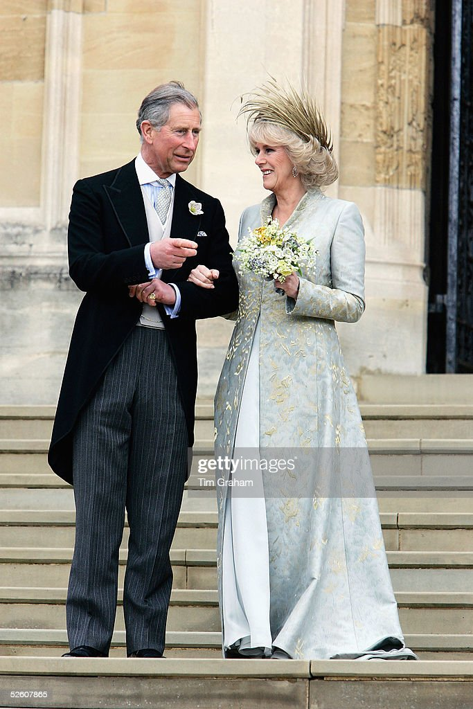 Royal Marriage Blessing At Windsor Castle : News Photo