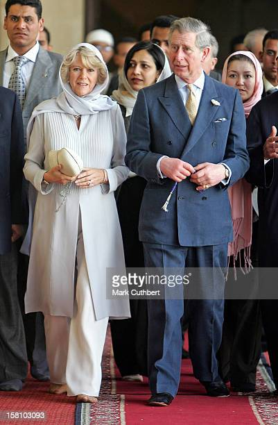 The Prince Of Wales The Duchess Of Cornwall Visit EgyptVisit To The AlAzhar Mosque Cairo