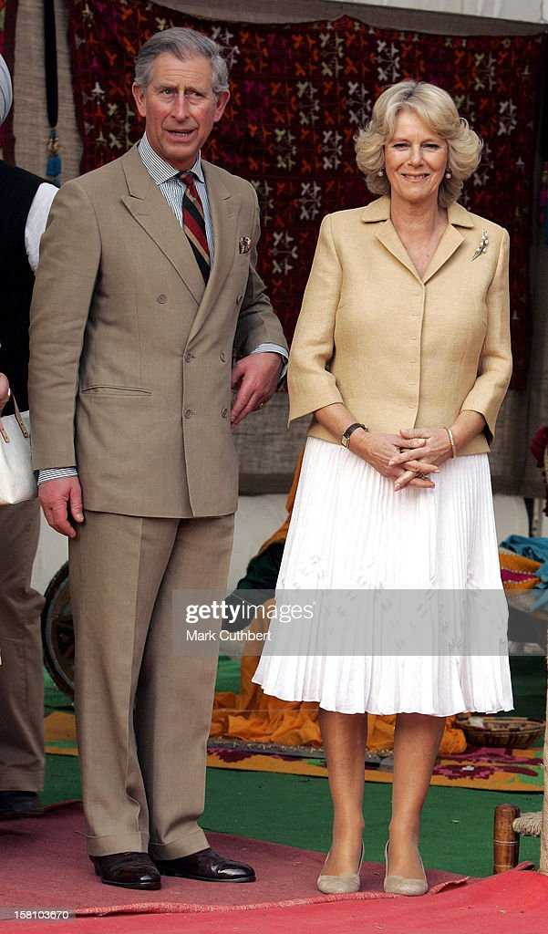 The Prince Of Wales The Duchess Of Cornwall Visit IndiaLaunching The Bhumi Vardaan Foundation For Sustainable Agriculture At The Yadavindra Public...