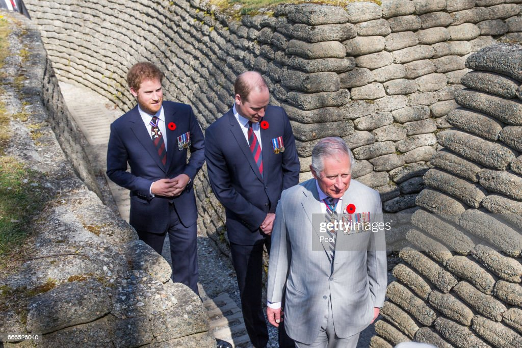 The Centenary Service To Commemorate The Battle Of Vimy Ridge : News Photo