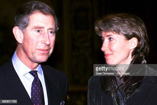 The Prince of Wales tonight paid homage to actress Emma Thompson's bare feet Calling her his 'favourite barefooted actress' Charles said he got to...