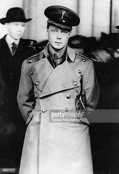 The Prince of Wales who abdicated as King Edward VIII in 1936 visiting Washington during a royal tour