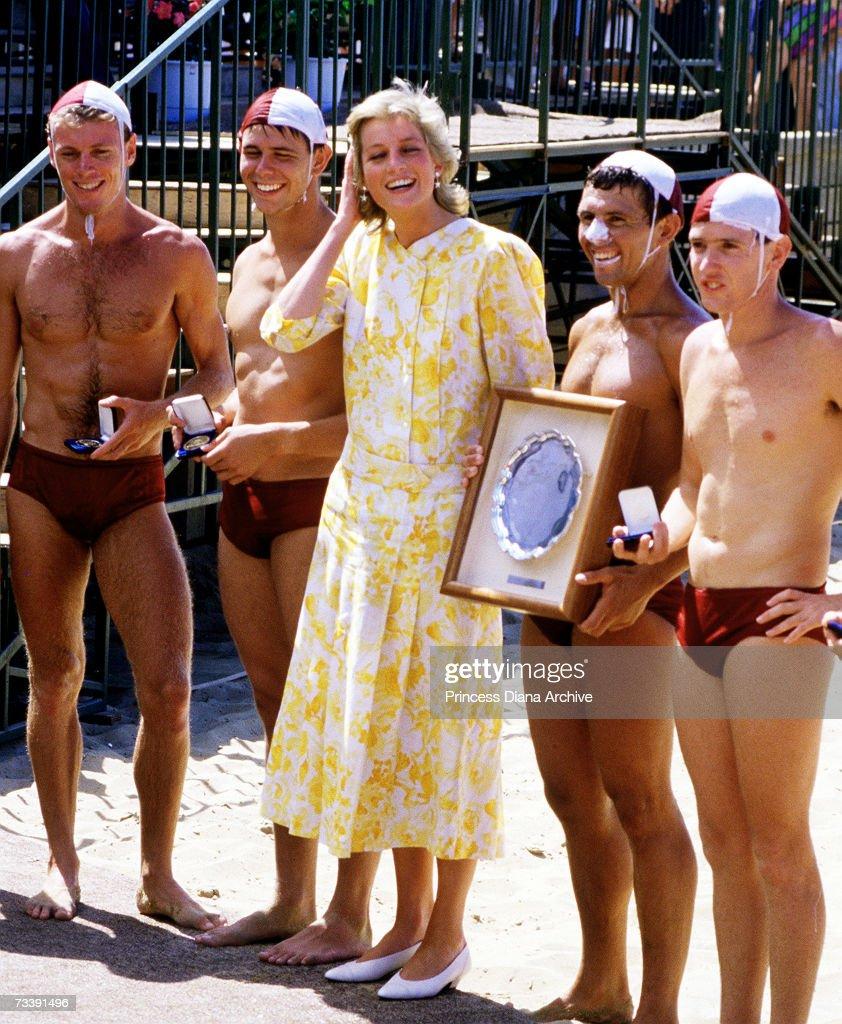Diana Down Under : News Photo