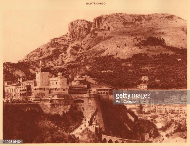 'The Prince's Palace and la Condamine Monte Carlo' 1930 Official residence of the Sovereign Prince of Monaco From La Cote d'Azur de Marseille a...