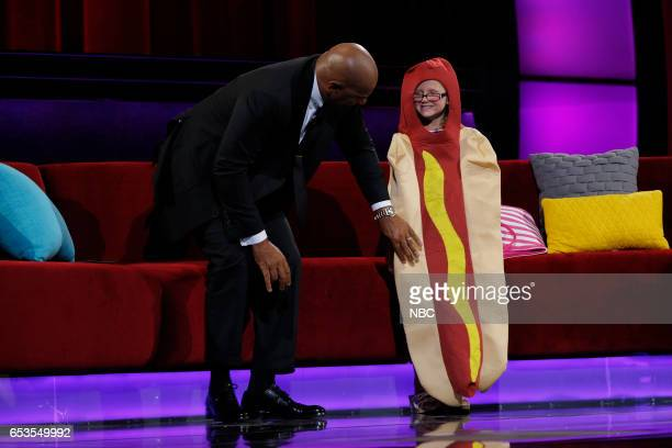 SHOTS 'The Princess and The Hot Dog' Episode 205 Pictured Steve Harvey Ainsley
