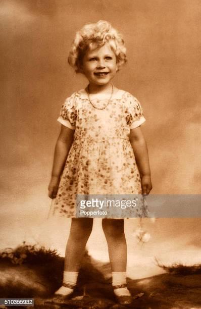The Princess Elizabeth later Queen Elizabeth II circa 1930