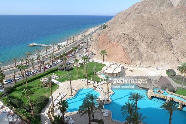 The Princess hotel in Eilat is the most southern hotel in Israel built on the border with the Egyptian Sinai desert.