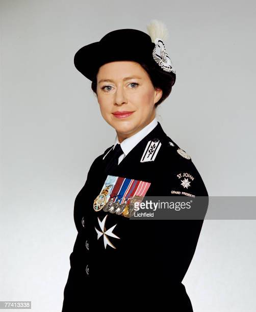 HRH The Princess Margaret Grand President of St John Ambulance on