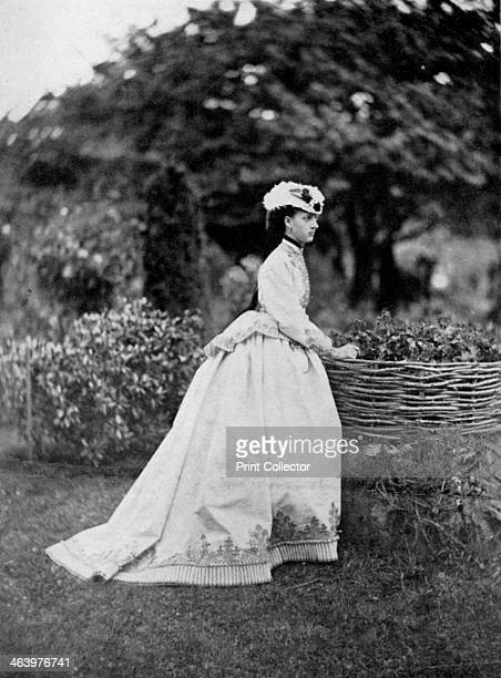 The Princess of Wales 1866 Princess Alexandra of Denmark married the future King Edward VII in 1863 A print from King Edward the Seventh by Philip...