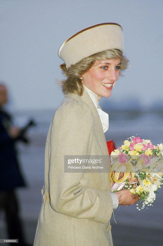 Diana In Derby : News Photo