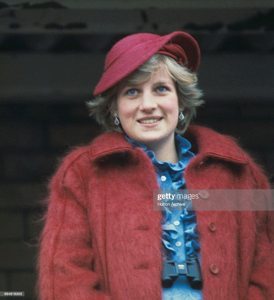 Diana At Aintree : News Photo