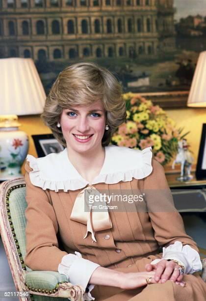 The Princess Of Wales At Home In Kensington Palace