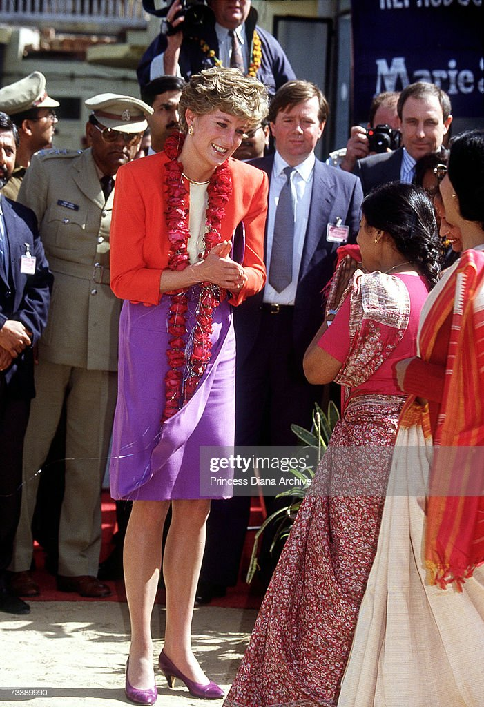 Diana In Agra : News Photo
