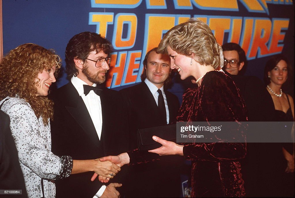 Diana At Film Premiere : News Photo