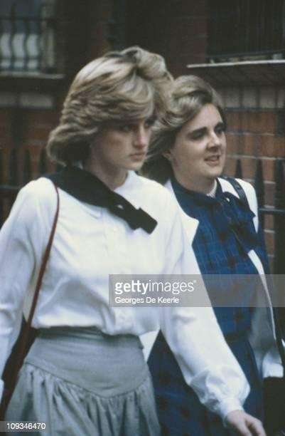 The Princess of Wales circa 1982