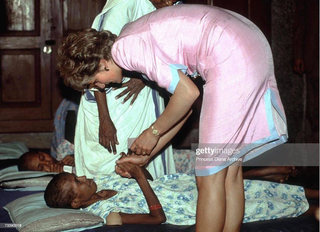 Diana In Calcutta : Nachrichtenfoto
