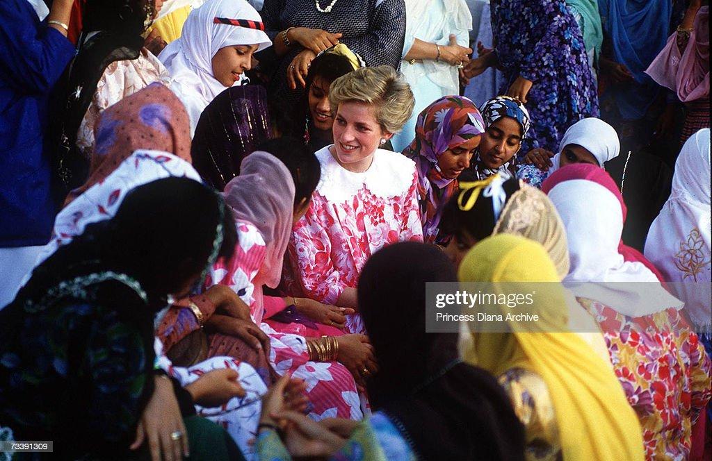 Diana In Oman : News Photo