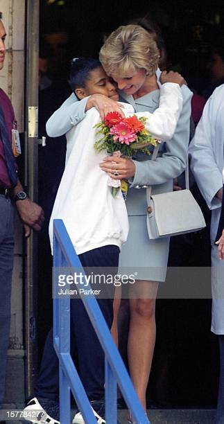 The Princess Of Wales Visits ChicagoVisit To The Cook County Hospital