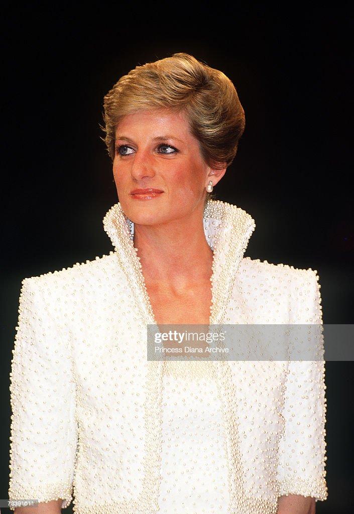 Diana At Fashion Awards : News Photo
